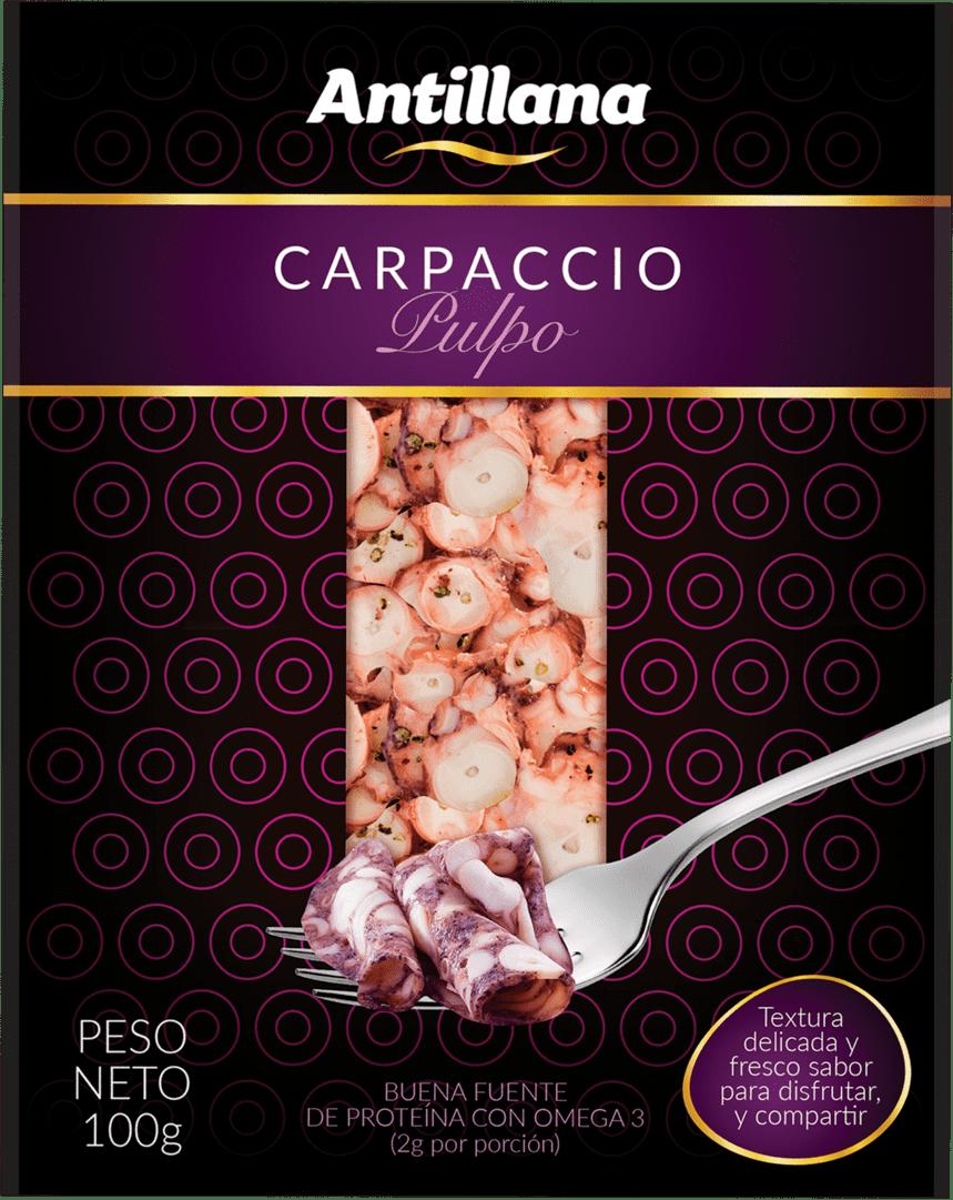 Carpaccio De Pulpo Antillana 100 G