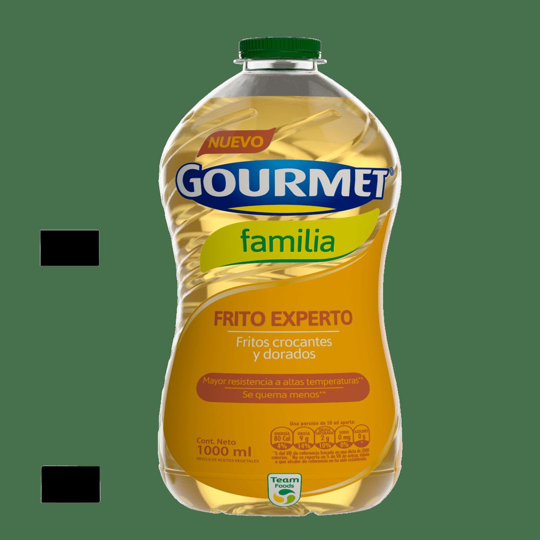 Aceite Gourmet Familia Frito Experto 1000 Ml