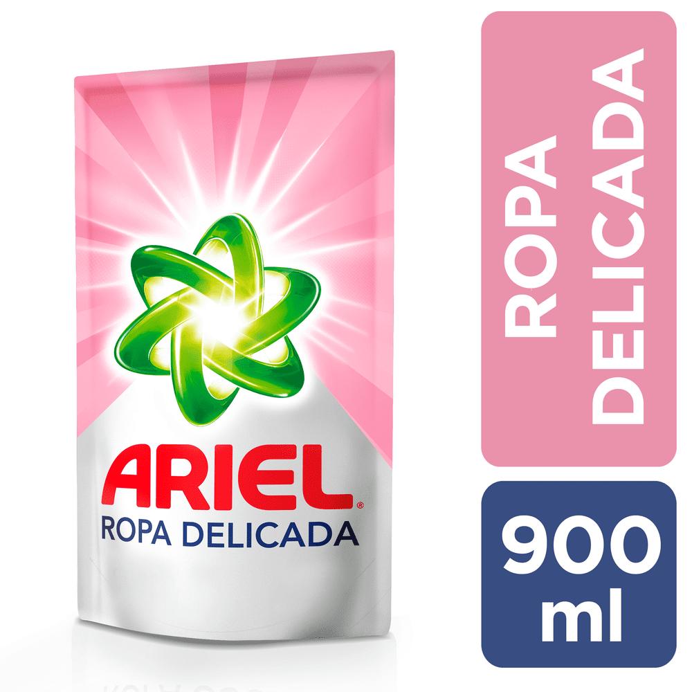 Detergente Ariel Líquido 900 Ml Ropa Delicada