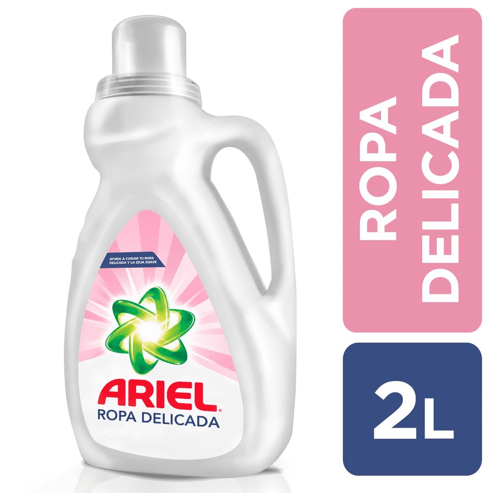 Detergente Ariel Líquido 2000 Ml Ropa Delicada