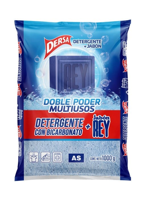 Detergente As Mas Jabón Rey 1000 G