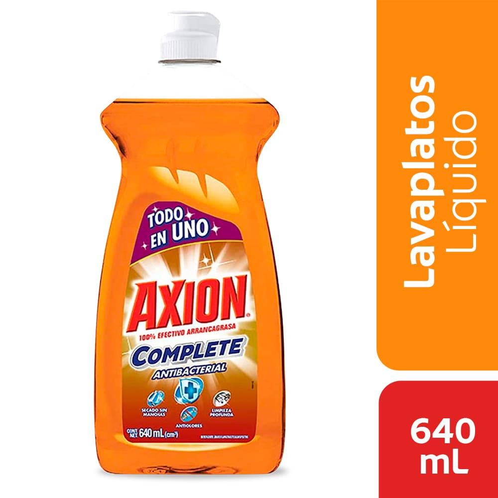 Lavaplatos Axión Antibacterial Líquido 640 Ml