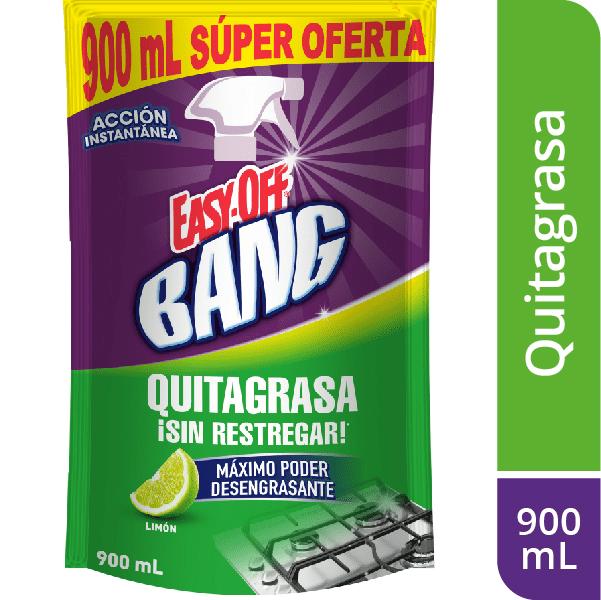 Quitagrasa Easy Off Bang Limón 900 Ml