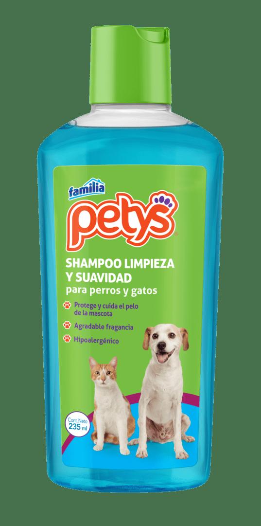 Shampoo Petys Limpieza Y Suavidad X 235 Ml